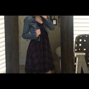 - EXPRESS Plaid Dress -